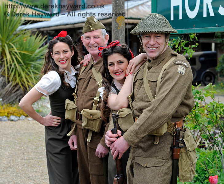 Southern at War, Horsted Keynes,  10.05.2015  11116