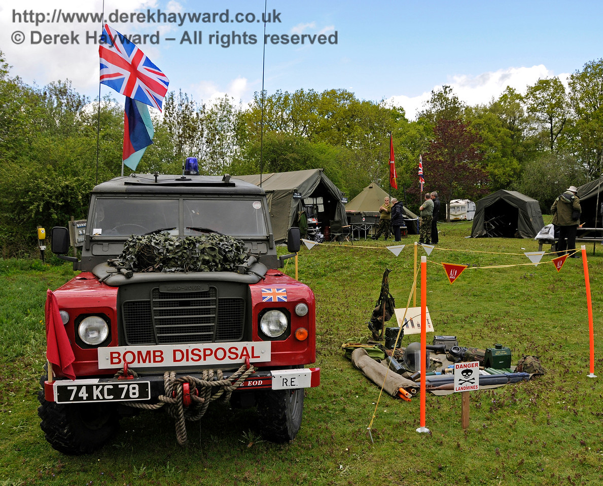 Southern at War, Horsted Keynes,  09.05.2015  12445