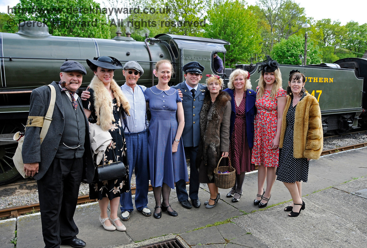 Southern at War, Horsted Keynes,  10.05.2015  12546