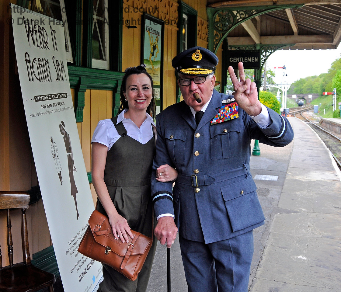 Southern at War, Horsted Keynes,  10.05.2015   12505