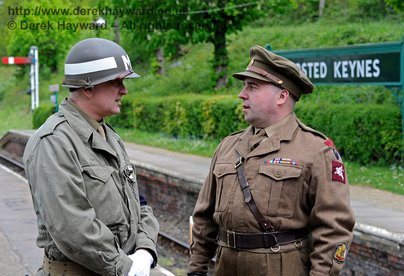 Southern at War, Horsted Keynes,  10.05.2015  11114