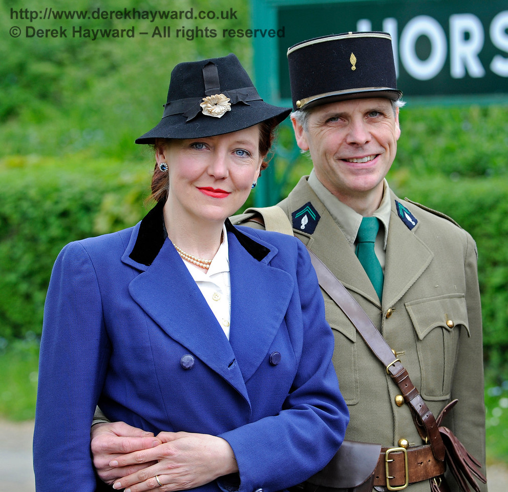 Southern at War, Horsted Keynes,  10.05.2015  11121