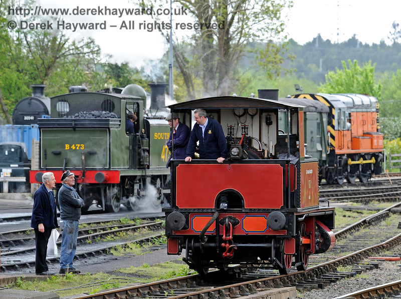 Southern at War, Sheffield Park,  10.05.2015   11090