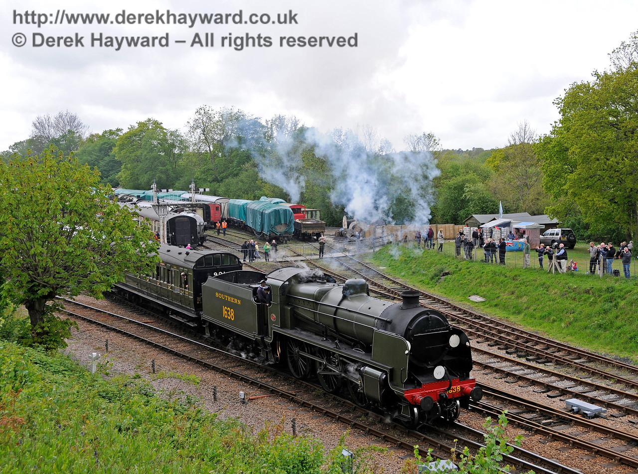 Southern at War, Horsted Keynes,  10.05.2015   12529