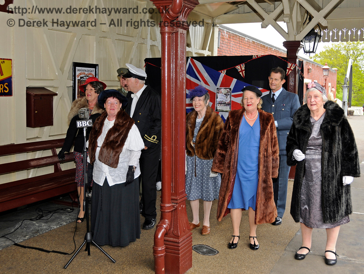 ENSA Concert Party, Southern at War, Sheffield Park,  10.05.2015  12490