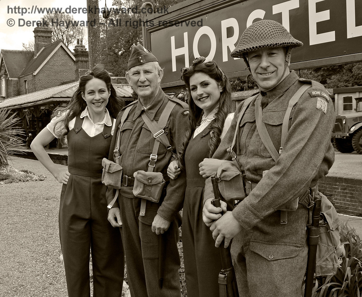 Southern at War, Horsted Keynes,  10.05.2015   12507