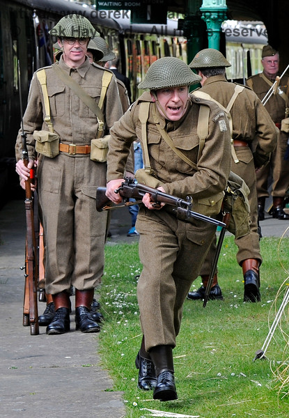Southern at War, Horsted Keynes,  09.05.2015  11049