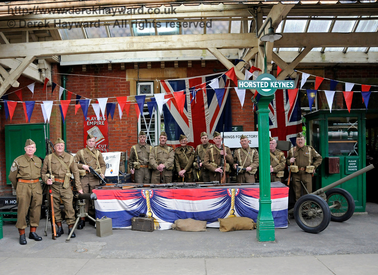Southern at War, Horsted Keynes,  09.05.2015  12429