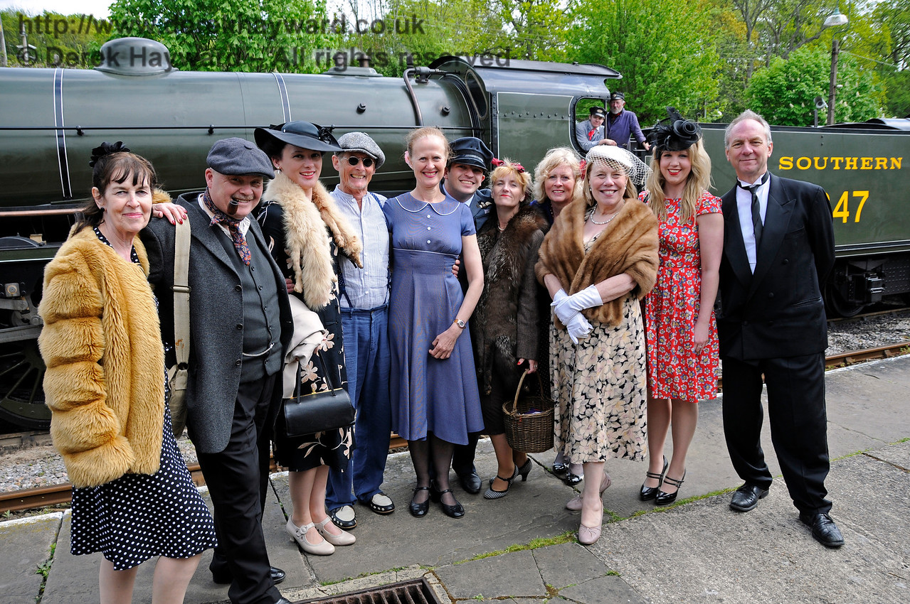 Southern at War, Horsted Keynes,  10.05.2015  12547