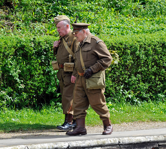 Southern at War, Horsted Keynes,  10.05.2015  11237