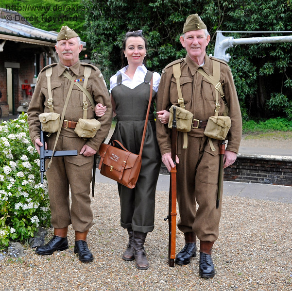 Southern at War, Horsted Keynes,  10.05.2015   12526