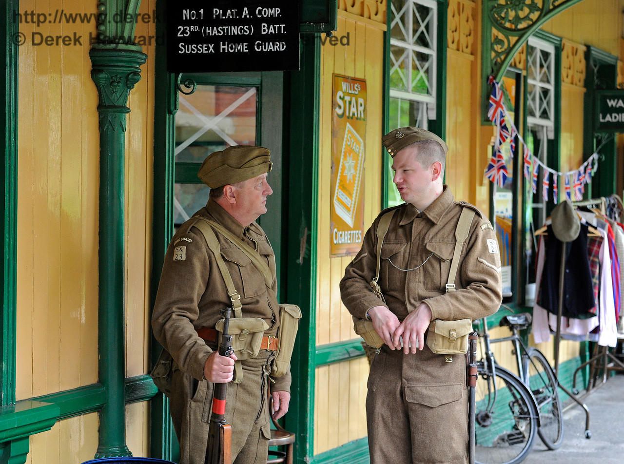 Southern at War, Horsted Keynes,  09.05.2015   10888