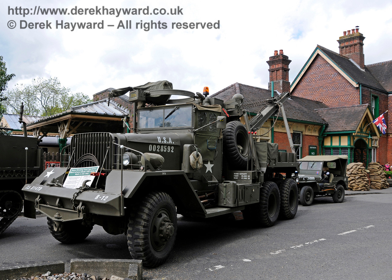 Southern at War, Horsted Keynes,  09.05.2015  12408