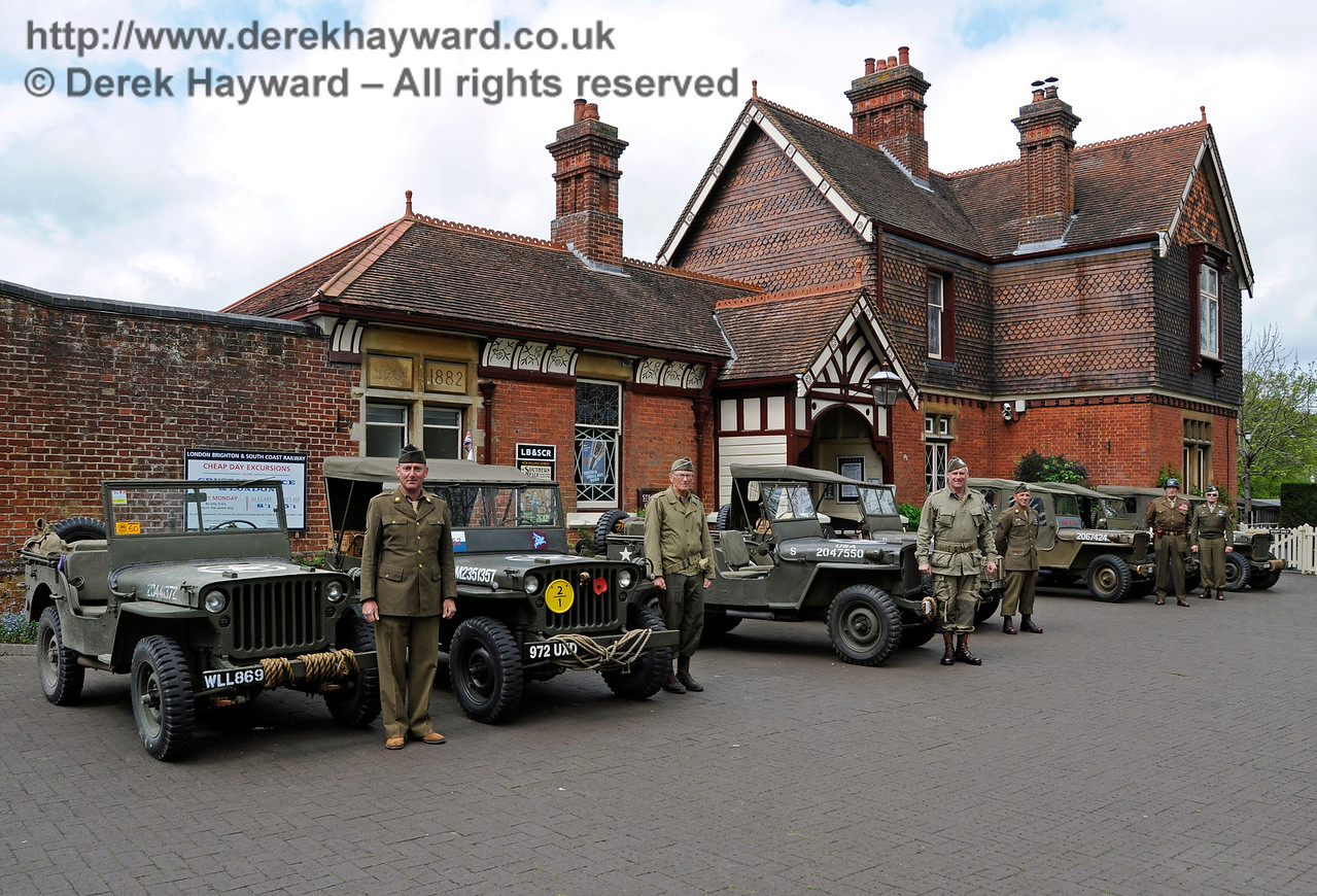 Southern at War, Sheffield Park,  10.05.2015  12472