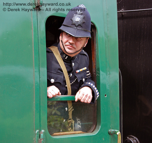 Good order was maintained on the trains. Horsted Keynes 12.05.2007