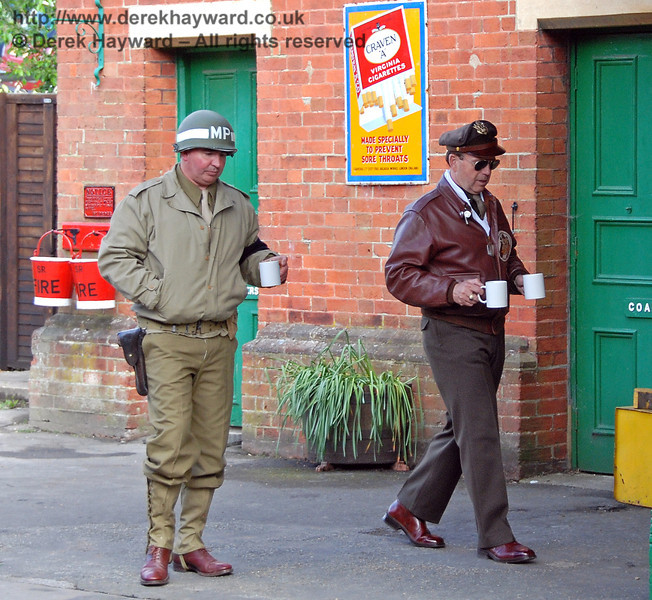 The Americans are always drinking tea....  Horsted Keynes 12.05.2007