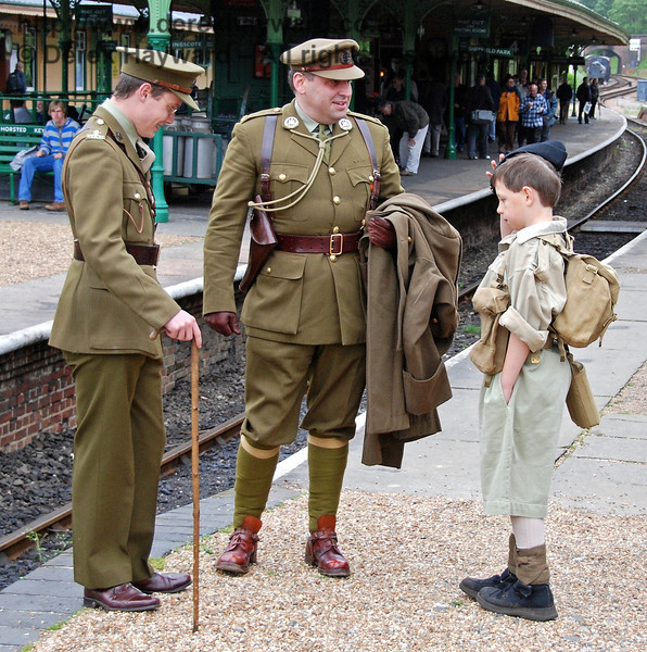 I am not sure this recruit quite reaches the height limit....  Very keen though.  Horsted Keynes 12.05.2007