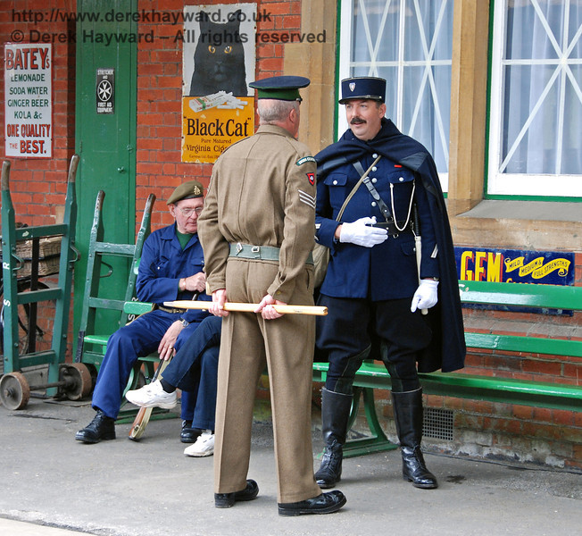 You are in the wrong country you 'orrible man.  Stand to attention when you speak to me!  Horsted Keynes 12.05.2007