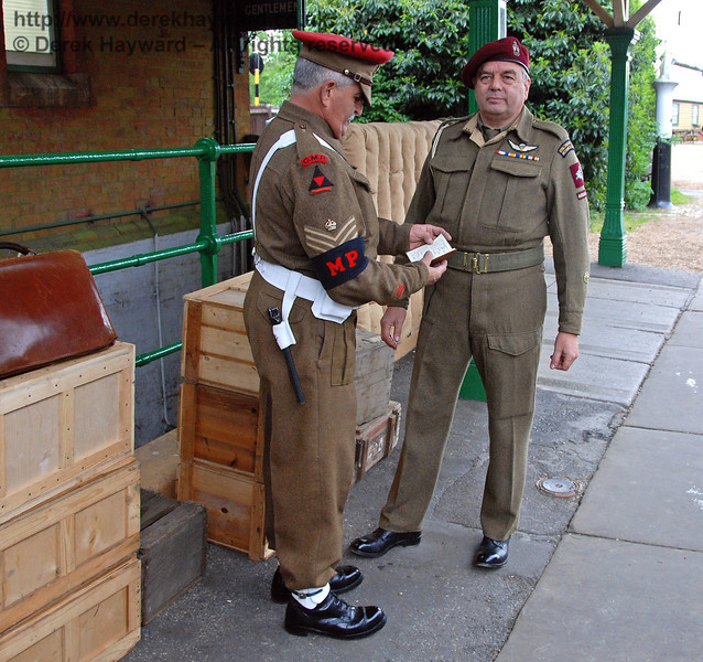 Can I see your papers, please, Sir? Horsted Keynes 12.05.2007