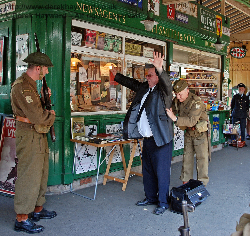 A spy is searched at Horsted Keynes. 11.05.2008
