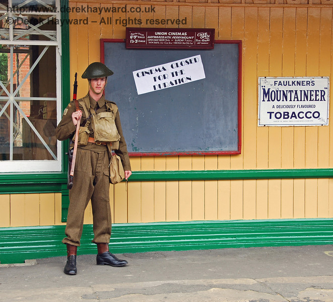 Cinemas were closed for the duration, but films were still available at Horsted Keynes. 10.05.2008