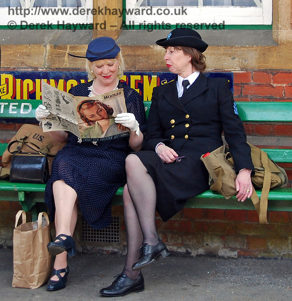 Relaxing at Horsted Keynes. 11.05.2008