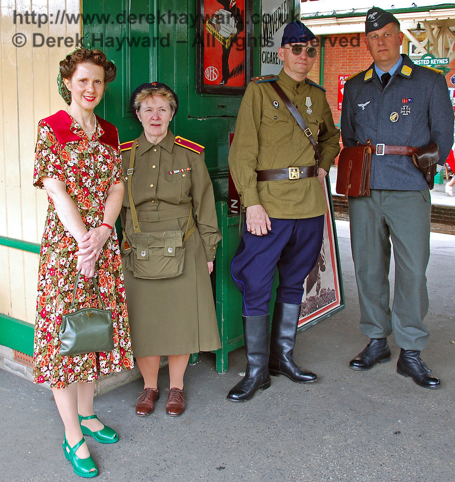 The authorities were somewhat lax, and allowed this german soldier to walk around Horsted Keynes, apparently without arousing any concern.... 10.05.2008