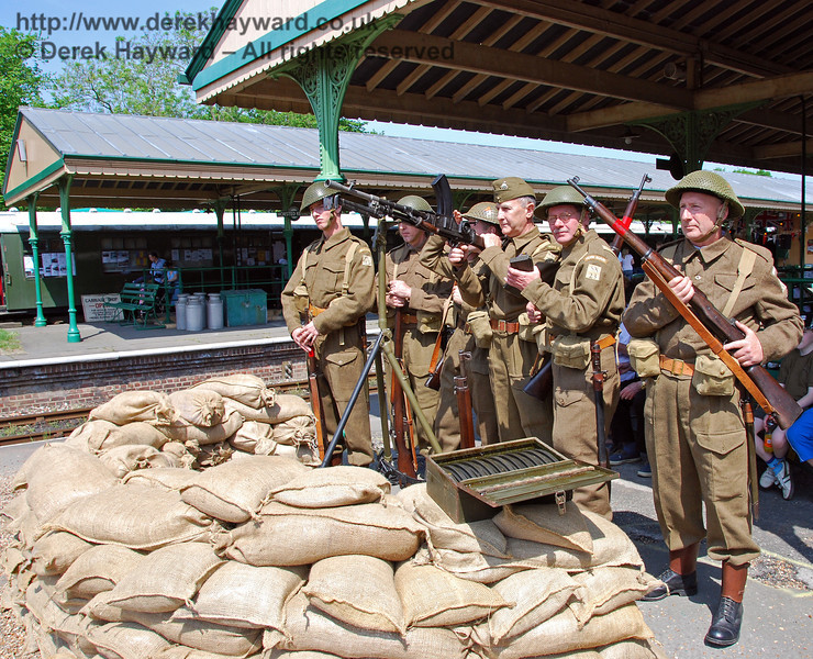 The Home Guard at Horsted Keynes. 11.05.2008