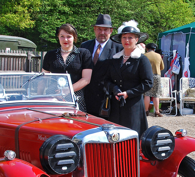 An elegant group at Horsted Keynes. 10.05.2009