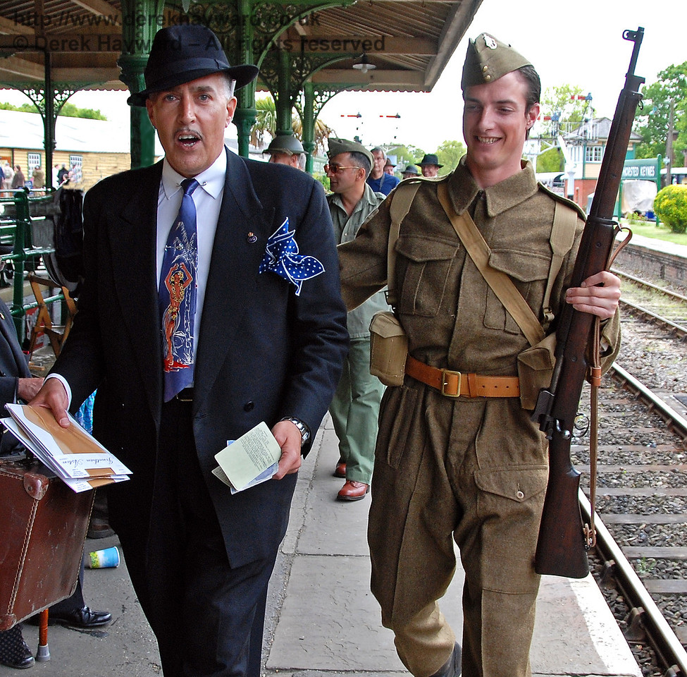Viv the Spiv is arrested.... again! Horsted Keynes 10.05.2009