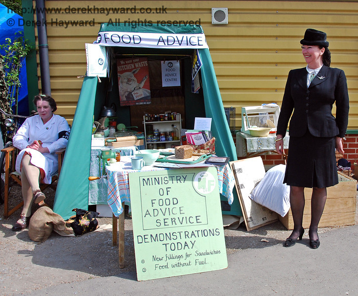 The Ministry of Food Advice Service. Horsted Keynes 10.05.2009