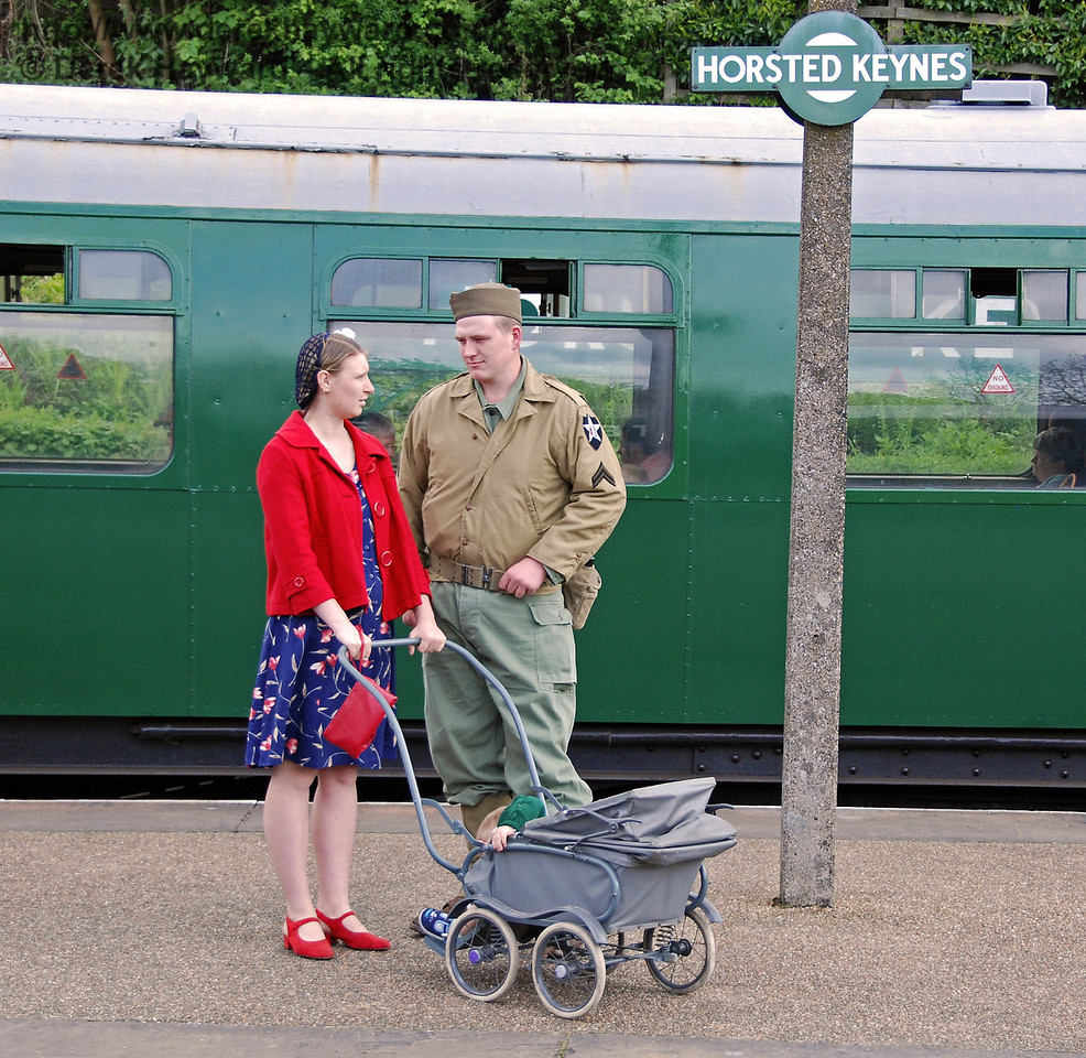 Wish me luck as you wave me goodbye. Horsted Keynes 09.05.2009