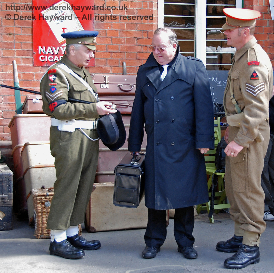 The Military Police question a spy at Horsted Keynes. 09.05.2009