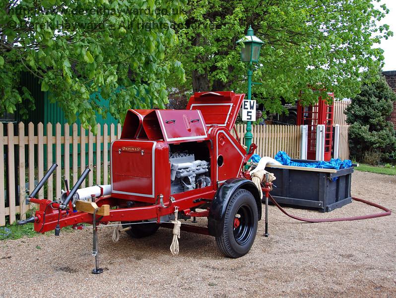 A fire pump at Kingscote. 09.05.2009
