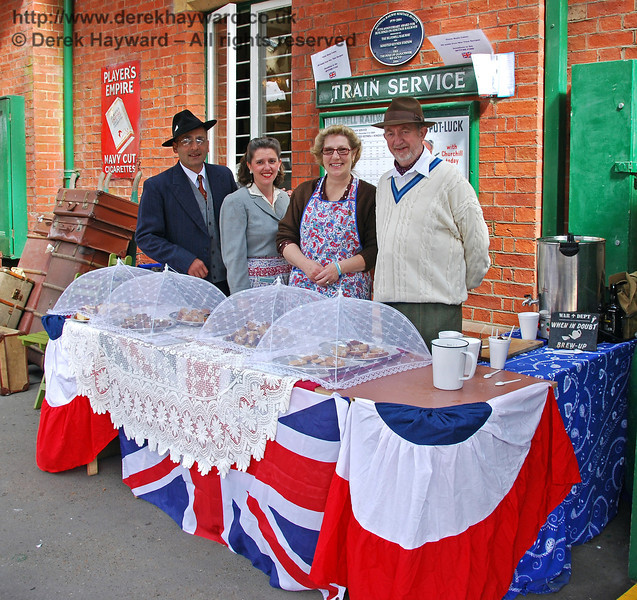 Refreshments were served at Horsted Keynes. 09.05.2009