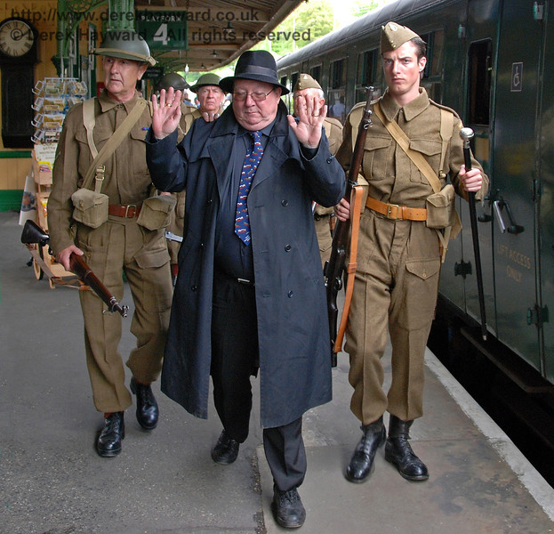 A spy is removed to the Guard Room at Horsted Keynes to await the Military Police. 10.05.2009