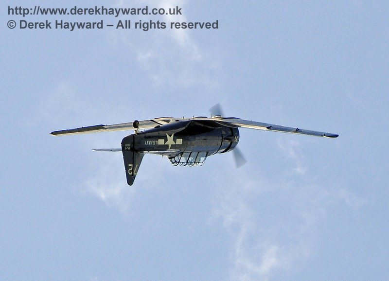 Texan T6 (Harvard) during the display at Horsted Keynes on 12.05.2012  7869