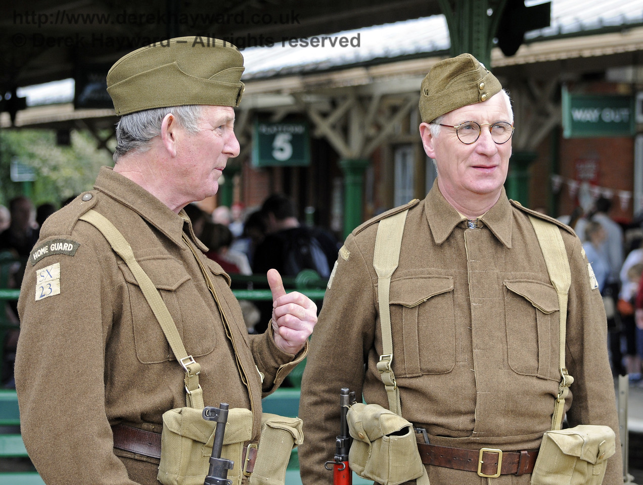 Southern at War, Horsted Keynes 13.05.2012  8051
