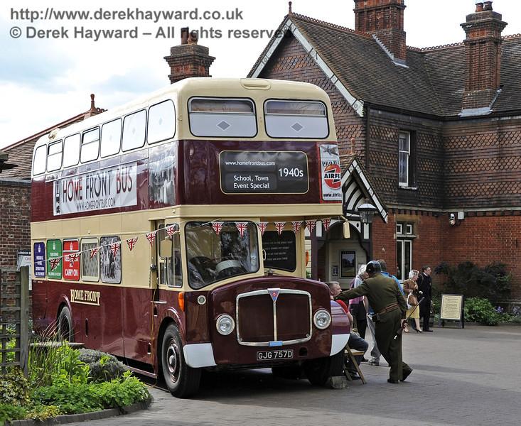 Southern at War, Sheffield Park 12.05.2012  4713