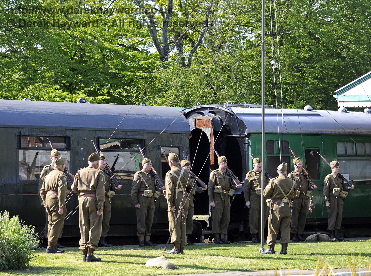 Southern at War, Horsted Keynes 13.05.2012  8088