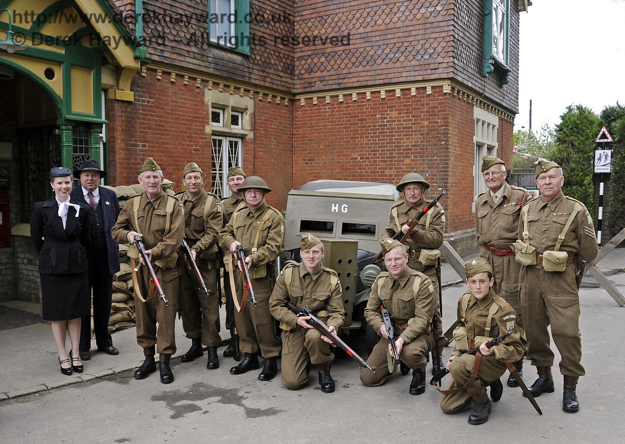 Southern at War, Horsted Keynes, 11.05.2013  6822