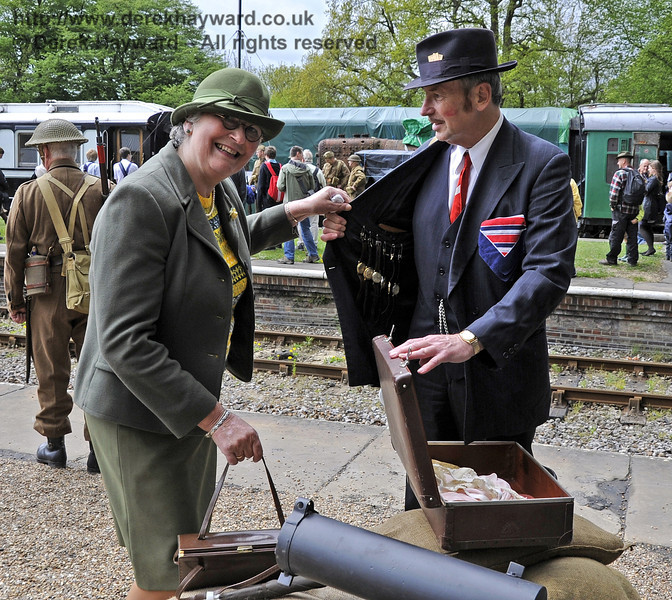 Southern at War, Horsted Keynes, 11.05.2013  6803