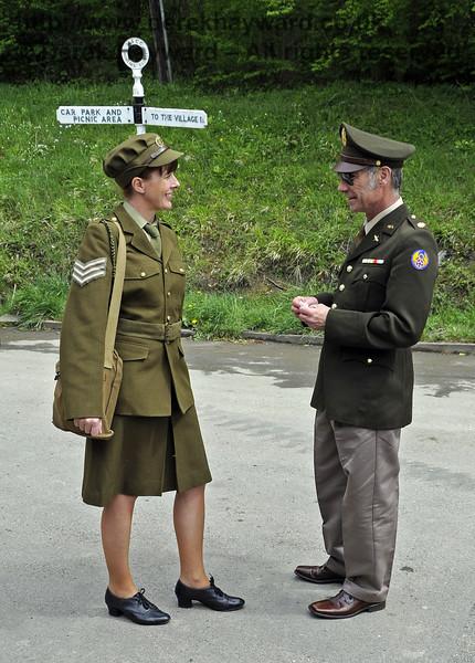 Southern at War, Horsted Keynes, 12.05.2013  7009