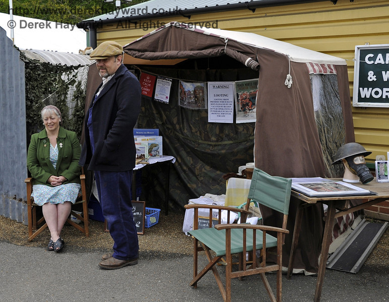 Southern at War, Horsted Keynes, 11.05.2013  6774