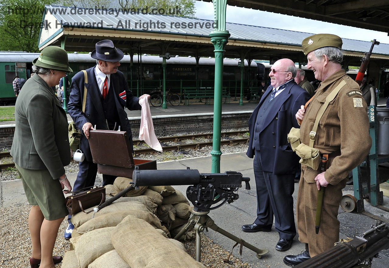 Southern at War, Horsted Keynes, 11.05.2013  6801