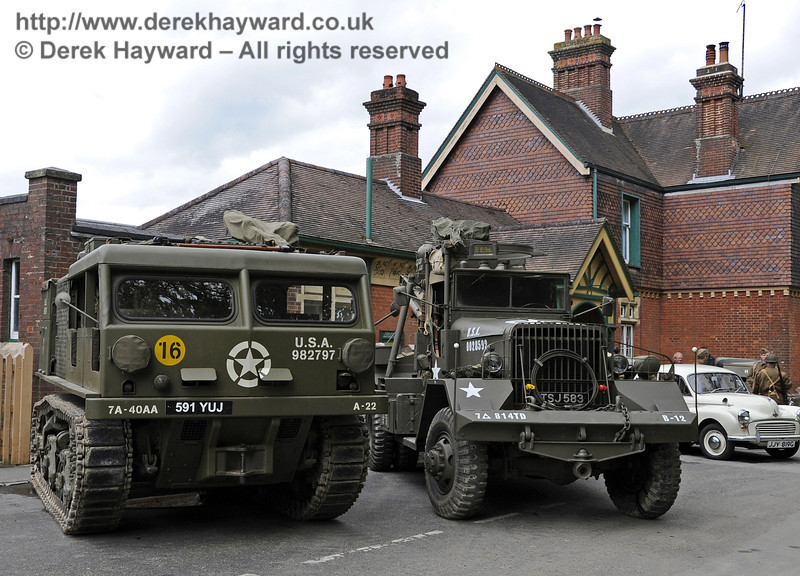Southern at War, Horsted Keynes, 11.05.2013  6785