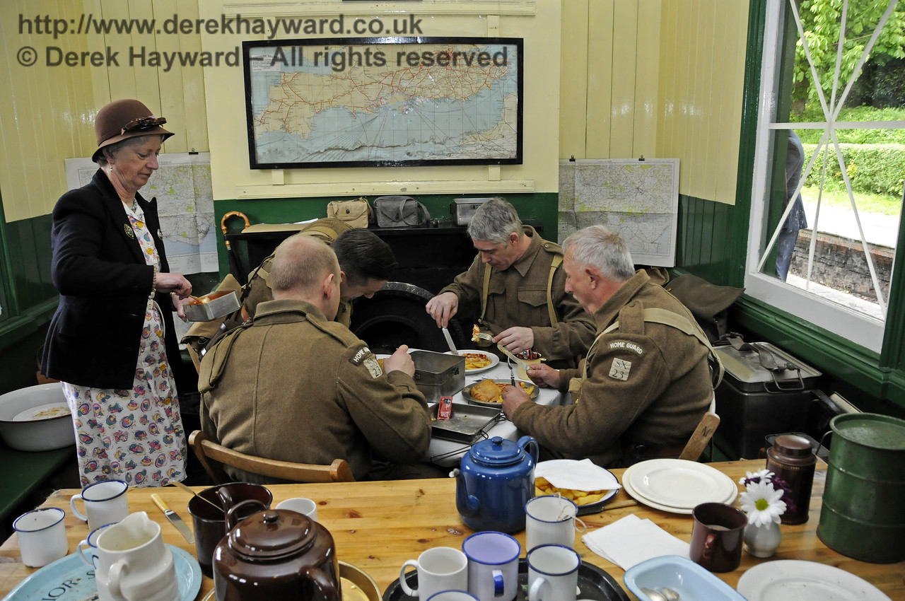 Southern at War, Horsted Keynes, 11.05.2014  10370