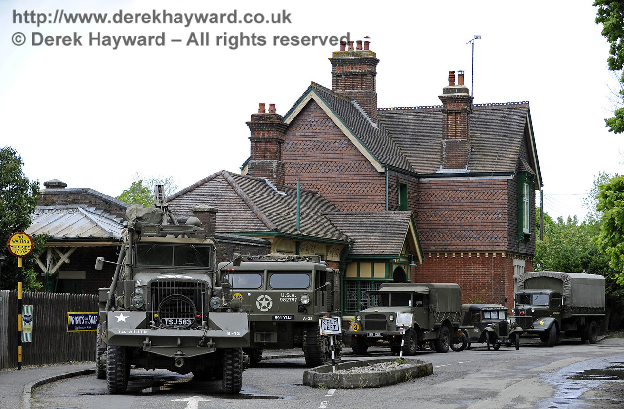 Southern at War, Horsted Keynes, 10.05.2014  8949