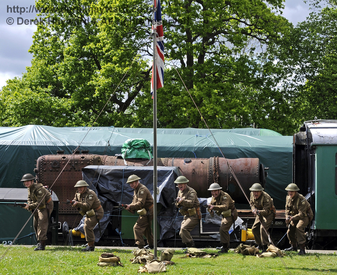 Southern at War, Horsted Keynes, 11.05.2014  10435/E1