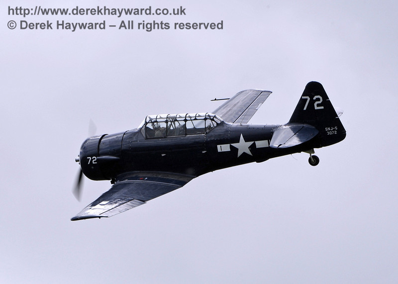 US Navy T-6 Harvard.  Southern at War, Horsted Keynes, 11.05.2014  9155